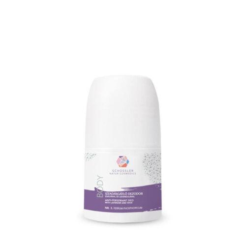 Schüssler natúr dezodor zsályával és levendulával